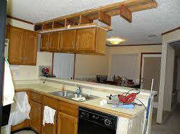 how to remove cabinets a soffit wall then patch and texture it