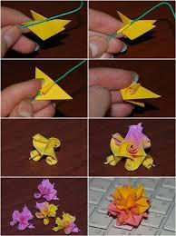 DIY Origami Kusudama Flower Tutorial