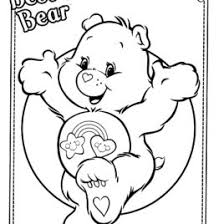 Wish Bear Coloring Page Kids Drawing And Pages Marisa