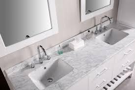 adorna 72 inch double sink bathroom vanity set in pearl white