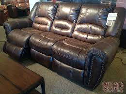 flexsteel leather sofa recliners centerfieldbar com
