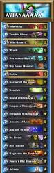 Hearthstone Decks Druid Combo by Legend With No Combo Heavy Ramp Aviana Druid Competitivehs