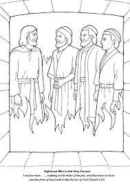Fresh Shadrach Meshach And Abednego Coloring Page 90 In Pictures With
