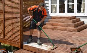 how to clean and stain your deck