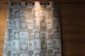 rideaux prets a poser rideau pret à poser les rousses beige