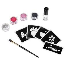 Mickey Mouse Halloween Stencil by Disney Mickey Mouse Clubhouse Minnie Mouse Glitter Tattoo Kit