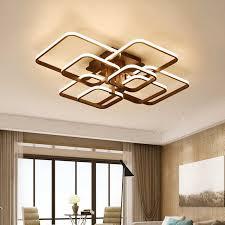 platz moderne led deckenleuchte für wohnzimmer schlafzimmer le 220v leuchten hause beleuchtung mit fernbedienung dimmbare glanz