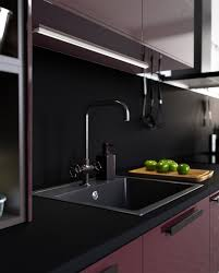 a minimalist kitchen with a bold touch ikea