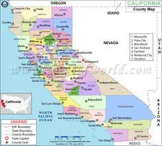 The California County Digital And Interactive Map Clearly Illustrates States Its 58 Counties Along With Their International Boundaries