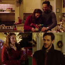 Jessica Lowndes Michael Rady Are Elizabeth William Darcy In Hallmarks Christmas At Pemberley Manor Movie Updated