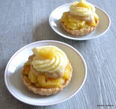 dessert aux pommes sans cuisson tartelettes au pomme et crème pâtissière sans cuisson au four