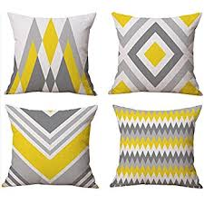 Amazon Pack of 2 CaliTime Throw Pillow Covers Cases for Couch