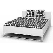 doppelbett stina bettgestell ehebett bett schlafzimmer 140x200 weiß
