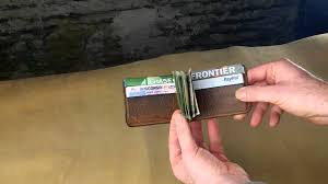 mitchell money clip wallet a closer look youtube
