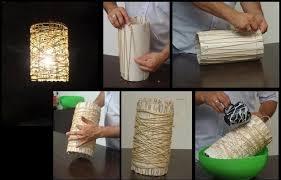 DIY Cord Lampshade