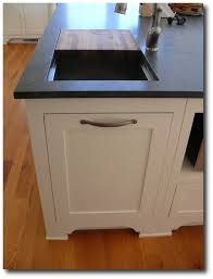 Remarkable Kitchen Trash Can Ideas Perfect Small Design With Wildzest