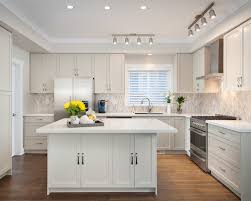 galley kitchen track lighting home design ideas