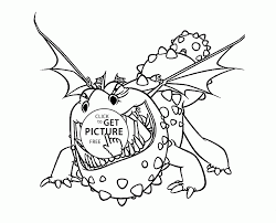 To Train Your Dragon Coloring Pages For Kids Printable Free Within Of How