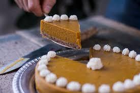 Pumpkin Pie With Gingersnap Crust Gluten Free by Pumpkin Spice Cake With Gingersnap Crust Autoimmune Wellness