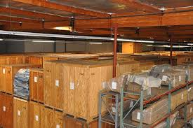 Furniture And Boxes Are Stored In Wooden Crates Specially Designed For This Purpose Pads Generously Used To Safeguard Your