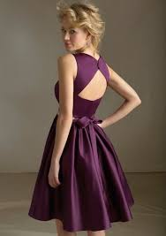 Wedding Bridesmaid Dresses If I did cream and purple colors this