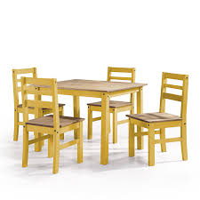 Manhattan Comfort Maiden Collection Reclaimed Traditional Modern 5 Piece  Pine Wood Dining Set, 4 Chairs And 1 Table Wood/Yellow Mhattan Comfort Maiden Collection Reclaimed Traditional Modern 5 Piece Pine Wood Ding Set 4 Chairs And 1 Table Woodyellow Solid Chair Natural Color Blob Wooden Ding Chair Reclaimed Wood Fniture Oak Cheap Rattan X Cross Back Buy Chrreclaimed Chairsfrench Bistro Magnificent And Metal Room Street Sl2090rw Vertical Back Reclaimed Wood Seat Black The Gray Barn Pivi At Dutchcrafters 42 Of 2 Neem Chestnut Finish Hand Turned Legs Paloma Rectangular With Rolled Grey Cotton By Inspire Q Artisan Unique Tables Decor Large Fniture All