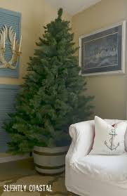 Christmas Tree Planter With Coastal Feel