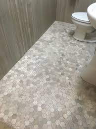 daltile l191 chenille white limestone 2 hex mosaic ta