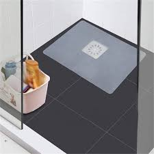 transparent n a silikon bodenablauf mat deodorant pad