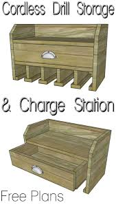 Tool Box Dresser Diy by Cordless Drill Storage Charging Station Her Tool Belt