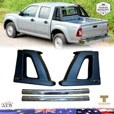 100 Truck Roll Bars With LED Center Rake Light Fit Isuzu Dmax Colorado DMAX
