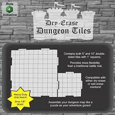 Dungeons And Dragons Tiles Sets by Amazon Com Dry Erase Dungeon Tiles Combo Set Of Five 10