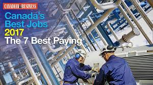 Glass Ceiling Salary Canada by Canada U0027s Best Jobs 2017 The Top 25 Jobs In Canada