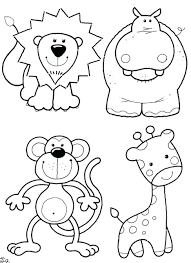 Animals Reading Books Coloring Pages Dapper Book Animal Sheets Printables Free Large Size