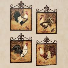 Rooster Decor For The Kitchen Walmart Wall Displays Astounding