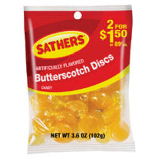 Sathers Butterscotch Disc - 3.6 oz.