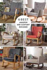 6 Best Amazon Mid-Century Modern Style Rocking Chairs - Liowe Home Best Furnishings Chairs Storytime Series Swivel And 35 Contemporary Rocking Design Ideas Luvlydecora Scenic Recliner Chair Tryp Glider Modern 15 Sleek Sunday Glide Gliding Rocker By At Wilcox Fniture Heather Casual Trex Outdoor Yacht Club Tree House Patio Rotmans Choice Products Tufted Upholstered Wingback Accent For Living Room Bedroom Wwood Frame Blush Pink And Ottoman Nursery Baby Nursing Seat Gray All Pictures Early American 17