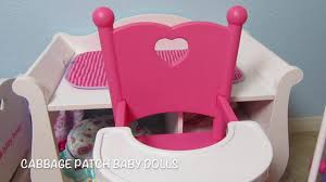 Cabbage Patch Kids Get A New You & Me High Chair Unboxing! Cabbage ... Pepperonz Set Of 8 New Born Baby Dolls Toy Assorted 5 Mini American Plastic Toys My Very Own Nursery Doll Crib Walmart Com You Me Wooden Highchair R Us Lex Got Vintage 1950s Amsco Metal Pink With Original High Chair Best Wallpaper Jonotoys Baby Doll High Chair 14 Cm Blue Internettoys Dressups Jeronimo For Sale In Johannesburg Id Handmade Primitive Wood 1940s Folk Art Preloved Stroller And Babies Kids Shop Jc Toys Online Dubai Abu Dhabi All Uae That Attaches To Table Home Decoration