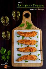 Happy Living Halloween Jalapeno Poppers by 0 U0027 Oil Skinny Baked Jalapeno Poppers With Spicy Sausage Mix