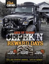 100 Truck Tire Deals For Days Dick Cepek Reward Days Are Back