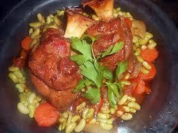 cuisiner une souris d agneau recette de souris d agneau confites aux flageolets