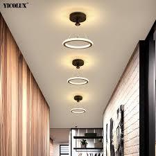 schwarz gold led moderne kronleuchter len für wohnzimmer esszimmer kinderzimmer schlafzimmer eisen acryl beleuchtung lichter glanz ac 90 260v