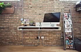 papier peint pour bureau designs uniques de bureau suspendu bureaux blancs trompe et suspendu