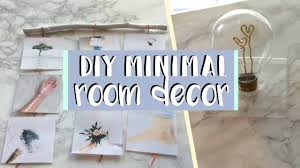 DIY Minimal Room Decor 2017 Simple And Aesthetic