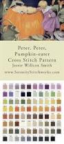 Peter Peter Pumpkin Eater Rhyme Free Download by Peter Peter Pumpkin Eater Cross Stitch Chart Jessie Willcox