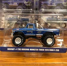 Greenlight Big Foot Monster Truck 1:64 King Of Krunch Big Foot ...