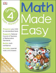 Halloween Picture Books For 4th Grade by Math Made Easy Fourth Grade Workbook Math Made Easy Dk