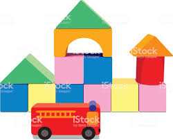 100 Fire Truck Games Free Kids Building Blocks With Stock Vector Art More Images