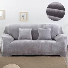 couverture canapé en peluche fabirc canapé couverture 1 2 3 4 places épais housse