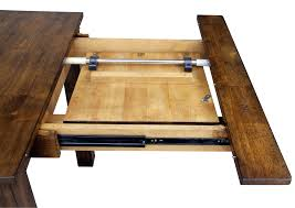 Dining Table Leaf Extension Hardware With Self Storage Replacement Drop